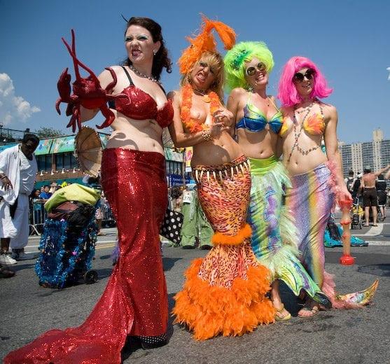 Coney Island Usa Mermaid Parade