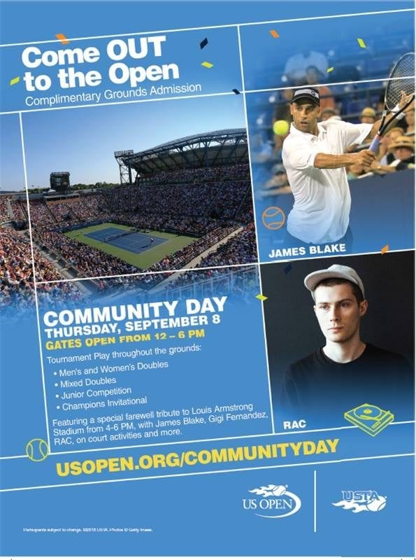 us open comm day