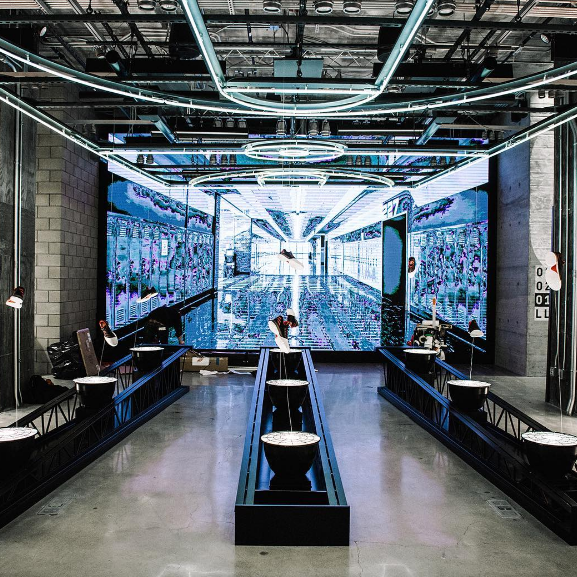 Adidas nyc newest addition see the new flagship store for Product design berlin