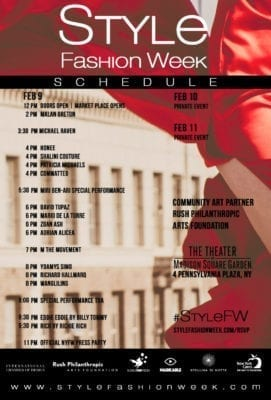 Style Fashion Week Thursday February 9th Nycplugged