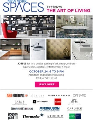newyork spaces the art of living tuesday october 24th nycplugged