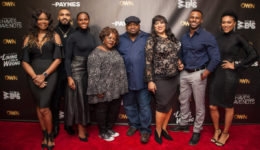 Angela Robinson, Tyler Lepley, Tika Sumpter, Cassi Davis,LaVan Davis, Jackee Harry, Eltony Williams and April Parker Jones (4)