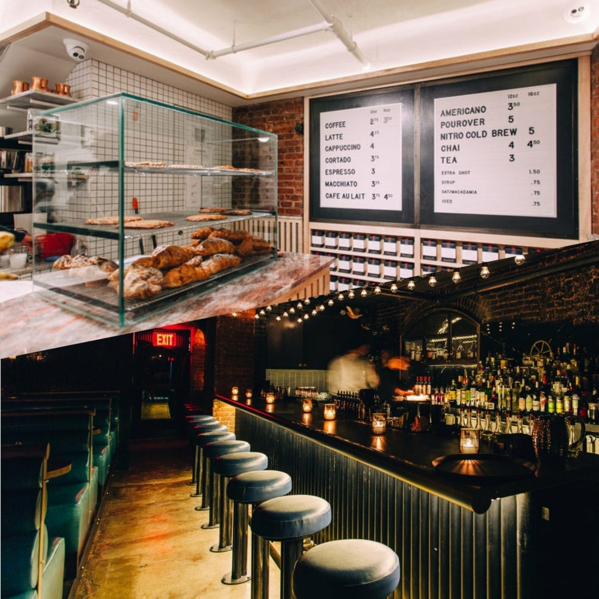 We Are Buzzing About NYC's Newest Coffee-Shop-By-Day-Speakeasy-by-Night