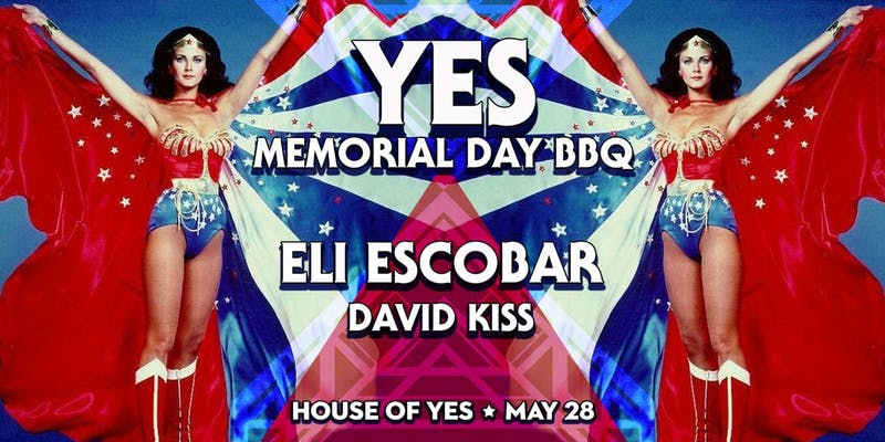 House of YES Memorial Day Party- Monday May 28th