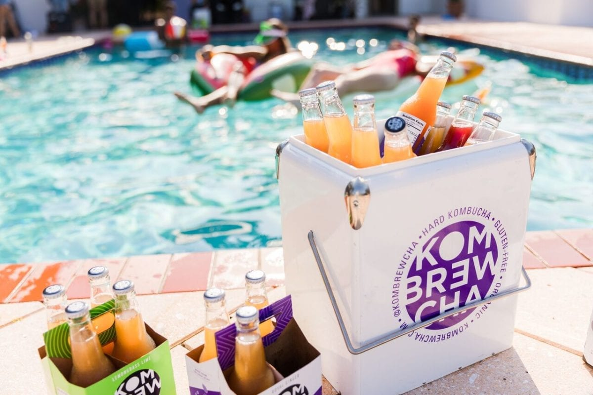 Get Your Summer Beverage Game on with @Kombrewcha