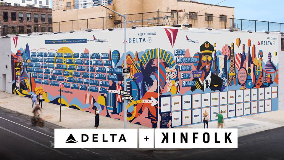 @Delta Airlines Pilot Talk Wall Launch Party- Saturday June 23rd