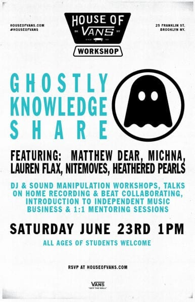 @Ghostly Knowledge Share- Saturday June 23rd