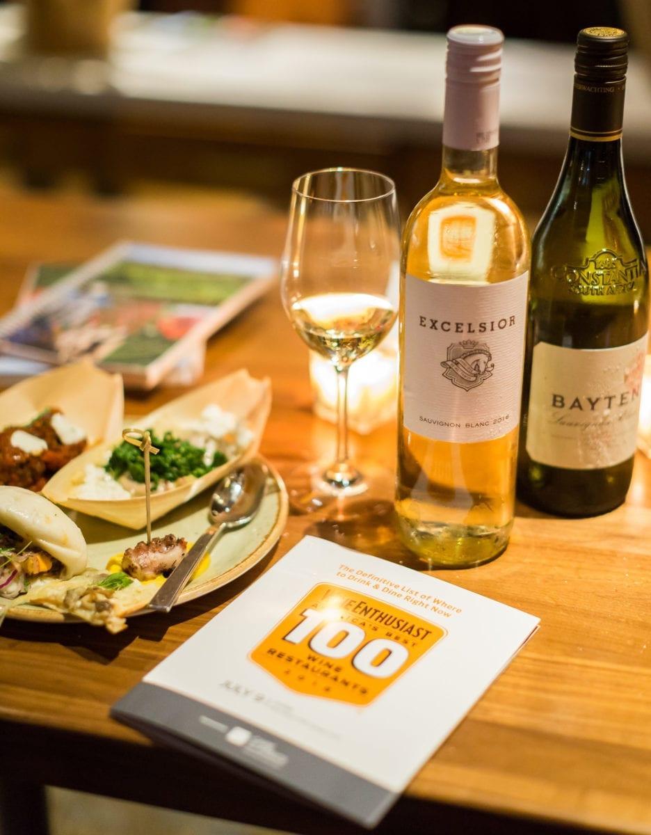 Wine Enthusiast's 'America's 100 Best Wine Restaurants of 2018'