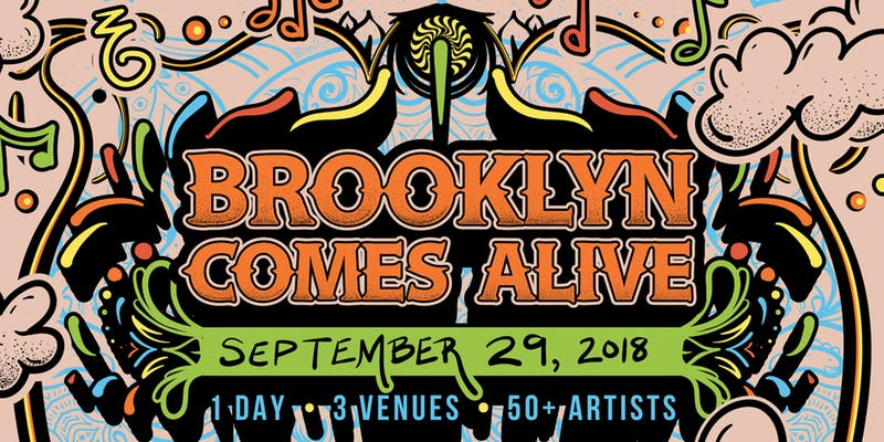 Brooklyn Comes Alive Festival-Saturday September 29th
