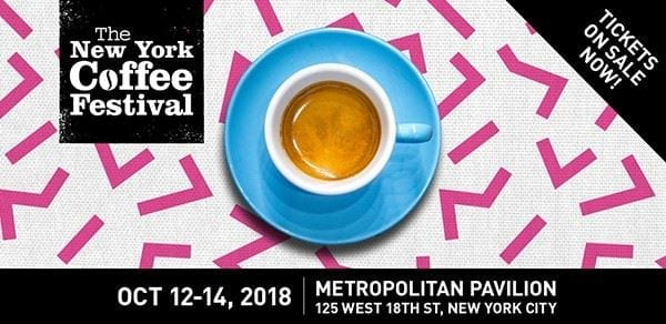 *GIVEAWAY* The New York Coffee Festival- Friday October 12th- Sunday October 14th