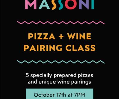 MASSONI pizza and wine pairing class