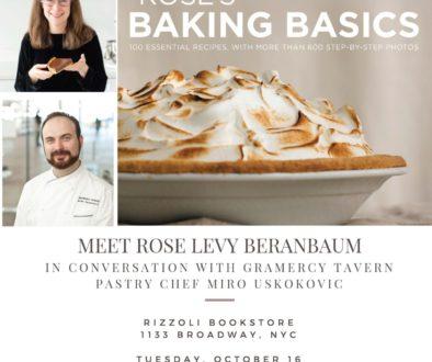 Rose baking