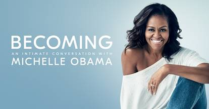 Becoming: An Intimate Conversation w/ @MichelleObama- Saturday December 1st