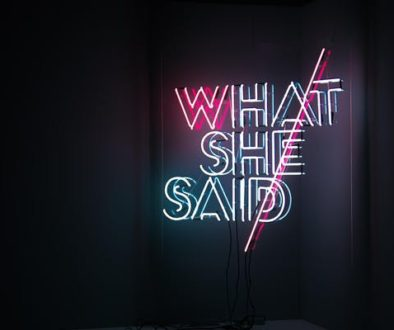 what she said